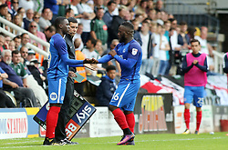 17 year-old Idris Kanu of Peterborough United replaces team-mate Junior Morias for his debut - Mandatory by-line: Joe Dent/JMP - 05/08/2017 - FOOTBALL - ABAX Stadium - Peterborough, England - Peterborough United v Plymouth Argyle - Sky Bet League One