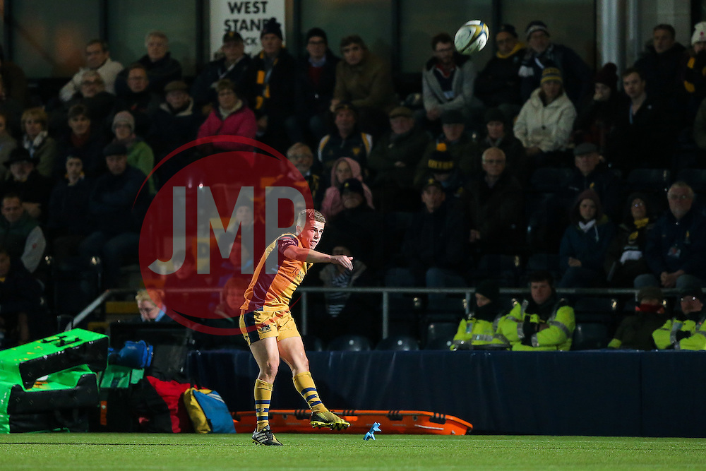 Billy Searle of Bristol Rugby - Rogan Thomson/JMP - 04/11/2016 - RUGBY UNION - Sixways Stadium - Worcester, England - Worcester Warriors v Bristol Rugby - The Anglo Welsh Cup.