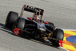 Motorsports / Formula 1: World Championship 2011, Test Valencia, Robert Kubica ( POL, Renault )