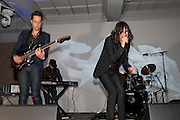 JAMIE HINCE; BOBBY GILLESPIE; , Art Plus Music Party 2010. Whitechapel art Gallery.  To raise money for the gallery';s education and community programme. 22 April 2010.