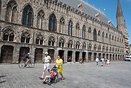 België. Ieper. In Flanders Field Museum.  Foto: Gerrit de Heus           Belgium. In Flanders Field Museum Photo: Gerrit de Heus