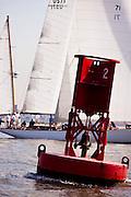Black Watch sailing in the New York Classic Week regatta.