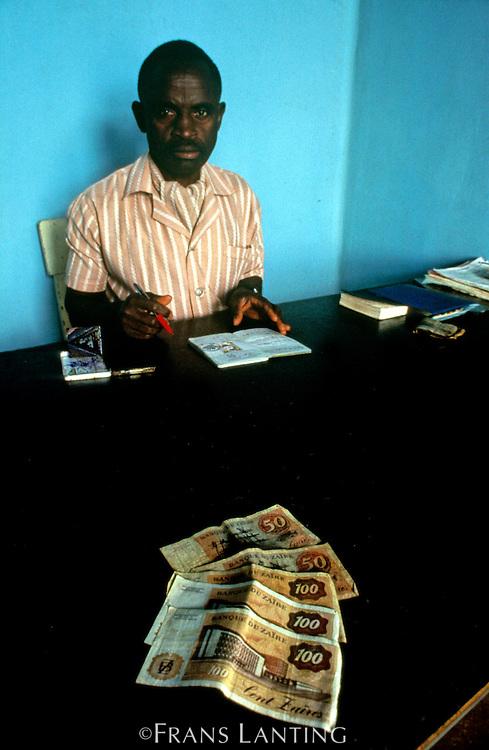 Immigration official, Bunia, Congo (DRC)