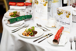 Exeter Chiefs Hospitality Christmas Dinner Food - Ryan Hiscott/JMP - 07/12/2018 - RUGBY - Sandy Park - Exeter, England - Exeter Chiefs Food