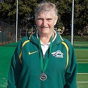 Mary Gordon, Australia, Runner up,70 Womens Singles competition during the 2009 ITF Super-Seniors World Team and Individual Championships at Perth, Western Australia, between 2-15th November, 2009