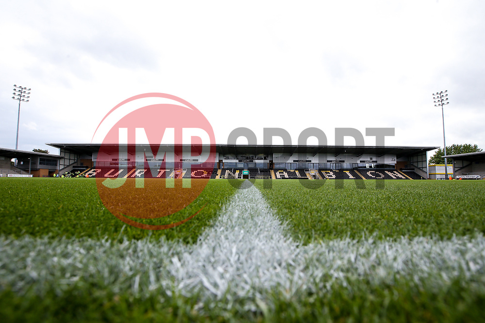 A general view of The Pirelli Stadium home to Burton Albion - Mandatory by-line: Robbie Stephenson/JMP - 31/08/2019 - FOOTBALL - Pirelli Stadium - Burton upon Trent, England - Burton Albion v Bristol Rovers - Sky Bet League One