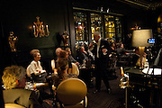 PRINCESS LEE RADZIWILL; NICKY HASLAM ,  , Nicky Haslam with pianist Paul Guinery performing songs by Cole Porter, Irving Berlin, Rogers and Hammerstein  and others at th BEAUFORT BAR? SAVOY- 8.P.M.