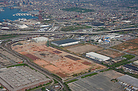 Aerial Image of Duke Properties  land at the port of Baltimore maryland, old GM Plant