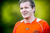 DEN HAAG - HBS - MSC , Sportpark Craeyenhout , Voetbal , Promotie/degradatie topklasse , seizoen 2014/2105 , 28-05-2015 , MSC speler Bjorn Bakker