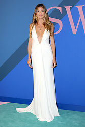 June 5, 2017 - New York, NY, USA - June 5, 2017  New York City..Heidi Klum attending the 2017 CFDA Fashion Awards on June 5, 2017 in New York City. (Credit Image: © Kristin Callahan/Ace Pictures via ZUMA Press)
