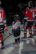 KELOWNA, CANADA - NOVEMBER 18:  Pepsi Player of the Game at the Kelowna Rockets game on November 18, 2016 at Prospera Place in Kelowna, British Columbia, Canada.  (Photo By Cindy Rogers/Nyasa Photography,  *** Local Caption ***