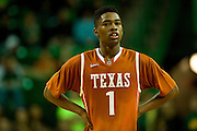WACO, TX - JANUARY 25: Isaiah Taylor #1 of the Texas Longhorns looks on against the Baylor Bears on January 25, 2014 at the Ferrell Center in Waco, Texas.  (Photo by Cooper Neill/Getty Images) *** Local Caption *** Isaiah Taylor