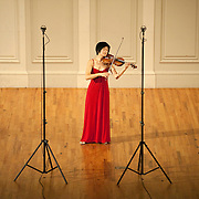October 23, 2011 - Manhattan, NY : American-born violinist Jennifer  Koh performs 'Bach: The Complete Solo Violin Works' at the American Academy of Arts and Letters in upper manhattan on Sunday afternoon. The program included, chronologically, 'Sonata No. 1 in G minor, BWV 1001,' 'Partita No. 1 in B minor, BWV 1002,' 'Sonata No. 2 in A minor, BWV 1003,' 'Partita No. 2 in D minor, BWV 1004,' 'Sonata No. 3 in C Major, BWV 1005,'  and 'Partita No. 3 in E Major, BWV 1006.' CREDIT: Karsten Moran for The New York Times