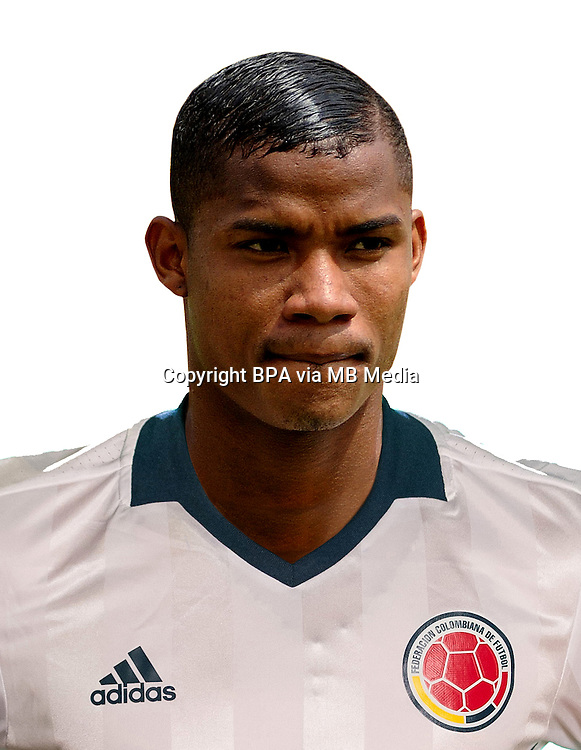 Fifa Men&acute;s Tournament - Olympic Games Rio 2016 - <br /> Colombia National Team - <br /> Wilmar Enrique Barrios