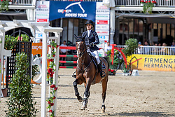 REID Chloe (USA), LUIS P<br /> Münster - Turnier der Sieger 2019<br /> MARKTKAUF - CUP<br /> BEMER-Riders Tour - Qualifier for the rating competition (comp no 11)  - Stechen<br /> CSI4* - Int. Jumping competition with jump-off (1.50 m) - Large Tour<br /> 03. August 2019<br /> © www.sportfotos-lafrentz.de/Stefan Lafrentz