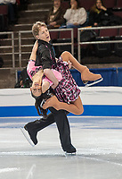 FOUR CONTINENTS FIGURE SKATING CHAMPIONSHIPS, VANCOUVER, BRITISH COLUMBIA, CANADA - FEBRUARY 5th 2009 - Original Dance Competition, Evgeny Borounov and Maria Borounov (AUS): Photo by Peter Llewellyn