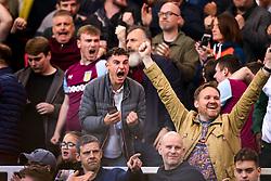 Aston Villa celebrate winning at Middlesbrough - Mandatory by-line: Robbie Stephenson/JMP - 12/05/2018 - FOOTBALL - Riverside Stadium - Middlesbrough, England - Middlesbrough v Aston Villa - Sky Bet Championship