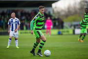 Forest Green Rovers Charlie Cooper(20) during the Vanarama National League match between Forest Green Rovers and Chester FC at the New Lawn, Forest Green, United Kingdom on 14 April 2017. Photo by Shane Healey.