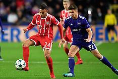 Anderlecht vs Bayern Munich, 22 Nov 2017