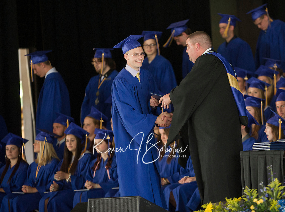 Gilford High School graduation at Meadowbrook Pavilion Sunday, June 9, 2013.