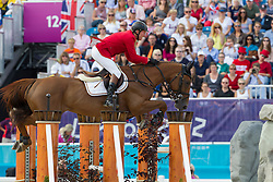 Lansink Jos (BEL) - Valentina van't Heike<br /> Olympic Games London 2012<br /> © Dirk Caremans