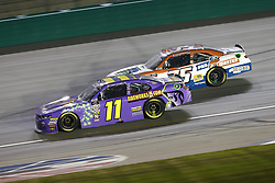 July 13, 2018 - Sparta, Kentucky, United States of America - Ryan Truex (11) and Joey Gase (35) battle for position during the Alsco 300 at Kentucky Speedway in Sparta, Kentucky. (Credit Image: © Chris Owens Asp Inc/ASP via ZUMA Wire)