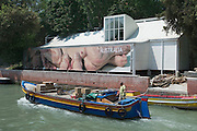 "VENICE, ITALY..50th Biennale of Venice.Australian Pavillion..""We are Family"" by Patricia Piccinini..(Photo by Heimo Aga)"