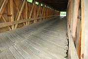 Inside Look at Eldean Covered Bridge, Troy, OH