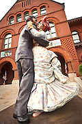 Time for Fun, giant sculpture by Seward Johnson Old Customs House, Key West, Florida.