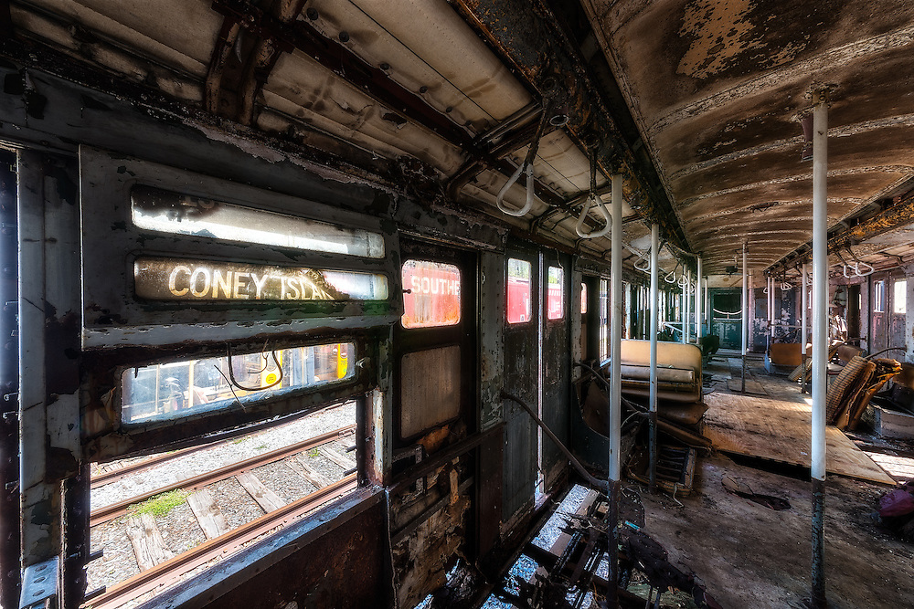 The Coney Island Express Walter Arnold Photography
