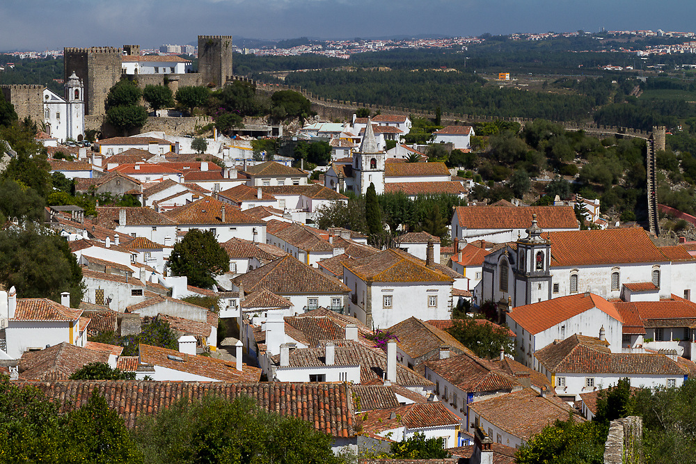 Obidos' roman settlement is most certainly the mysterious Eburobrittium, cited by Pliny the Elder as situated between Collipo (near present-day Leiria) and Olisipo (Lisbon).