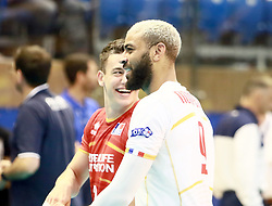 June 16, 2018 - Varna, Bulgaria - Earvin NGAPETH (France), .mens Volleyball Nations League,week 4, Brazil vs Francel, Palace of culture and sport, Varna/Bulgaria, June 16, 2018, the fourth of 5 weekends of the preliminary lap in the new established mens Volleyball Nationas League takes place in Varna/Bulgaria. (Credit Image: © Wolfgang Fehrmann via ZUMA Wire)