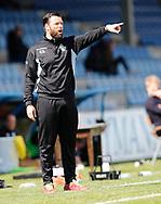 FODBOLD: Cheftræner Christian Lønstrup (FC Helsingør) under kampen i NordicBet Ligaen mellem Nykøbing FC og FC Helsingør den 7. maj 2017 i Nykøbing Falster Idrætspark. Foto: Claus Birch
