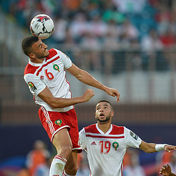 Ghanem Saiss of Morocco during the African Cup of Nations match between South Africa and Morocco on July 1st, 2019. Photo : Ulrik Pedersen / Icon Sport