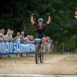 APELDOORN (NED) NK Mountainbike <br />Anne Terpstra pakt de titel bij de vrouwen