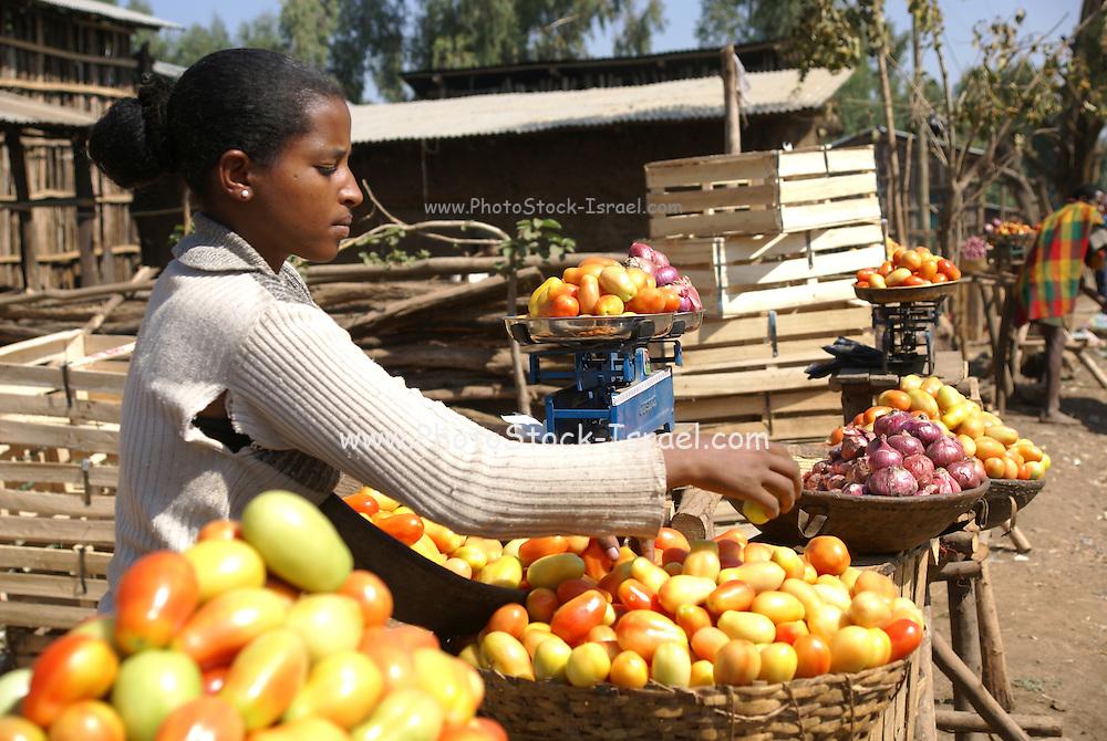 Ethiopia, Amhara Region Rural Market