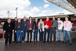Match Ball Sponsor - Mandatory byline: Rogan Thomson/JMP - 30/04/2016 - FOOTBALL - Ashton Gate Stadium - Bristol, England - Bristol City v Huddersfield Town - Sky Bet Championship.