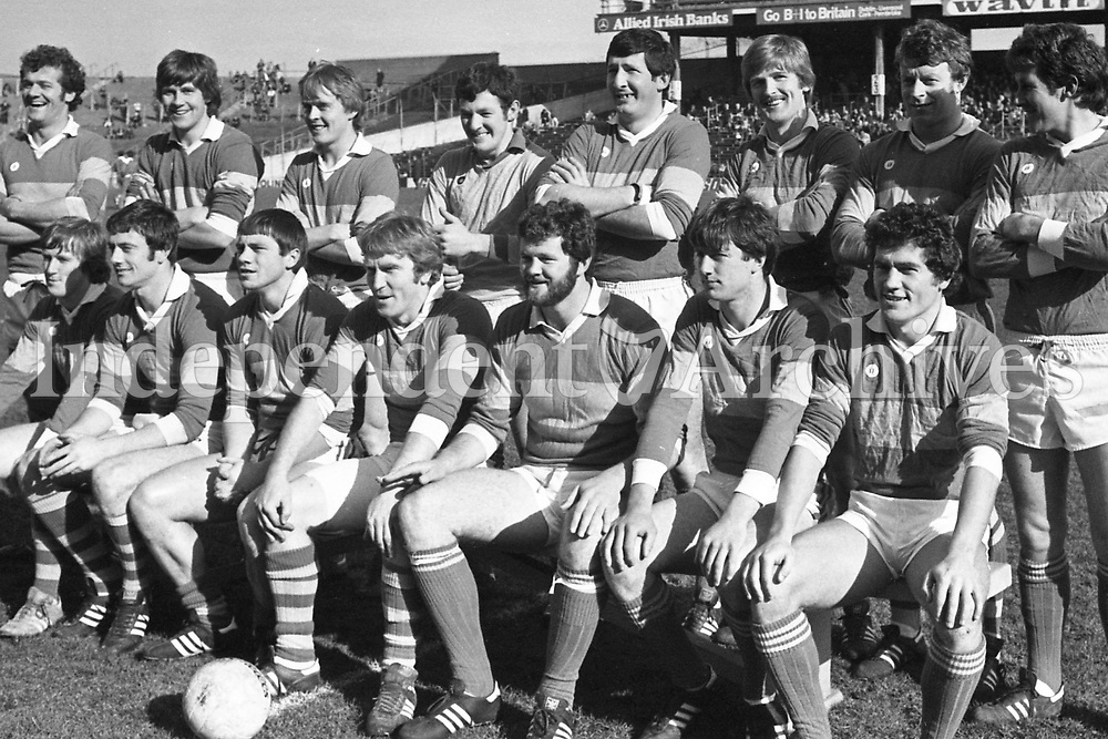 382-603 The Kerry Team which played Derry at Croke Park. 21/3/82 (Part of the Independent Ireland Newspapers/NLI Collection)