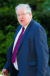 Downing Street, London, April 25th 2017. Chancellor of the Duchy of Lancaster Patrick McLoughlin attends the weekly cabinet meeting at 10 Downing Street in London. Credit: ©Paul Davey