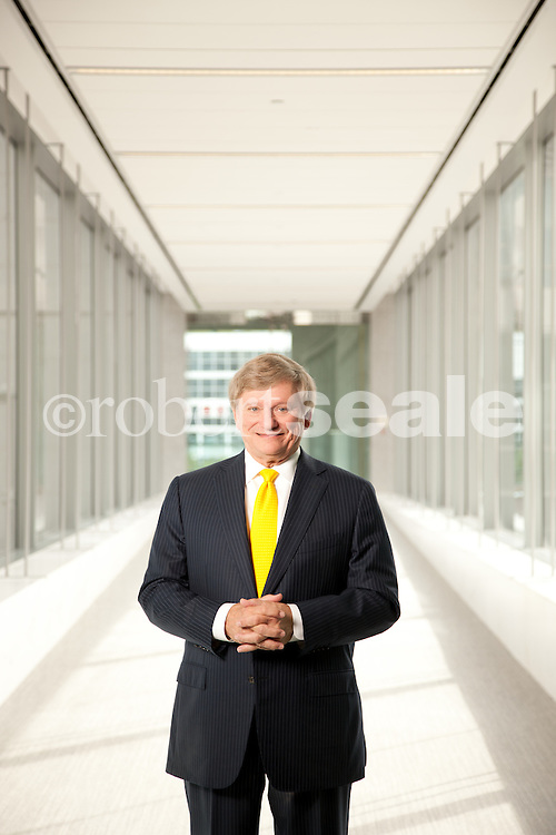 Attorney Rusty Hardin in the lobby of his office in downtown Houston, Texas, on Saturday, Dec. 3,2011. © 2011 Robert Seale