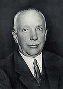 Richard (Georg) Strauss (1864-1949) German composer and conductor, born at Munich.