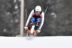 08.03.2017, Are, SWE, FIS Ski Alpin Junioren WM, Are 2017, Herren, Abfahrt, im Bild Zack Monsen, sjua // during men's Downhill of the FIS Junior World Ski Championships 2017. Are, Sweden on 2017/03/08. EXPA Pictures © 2017, PhotoCredit: EXPA/ Nisse<br /> <br /> *****ATTENTION - OUT of SWE*****