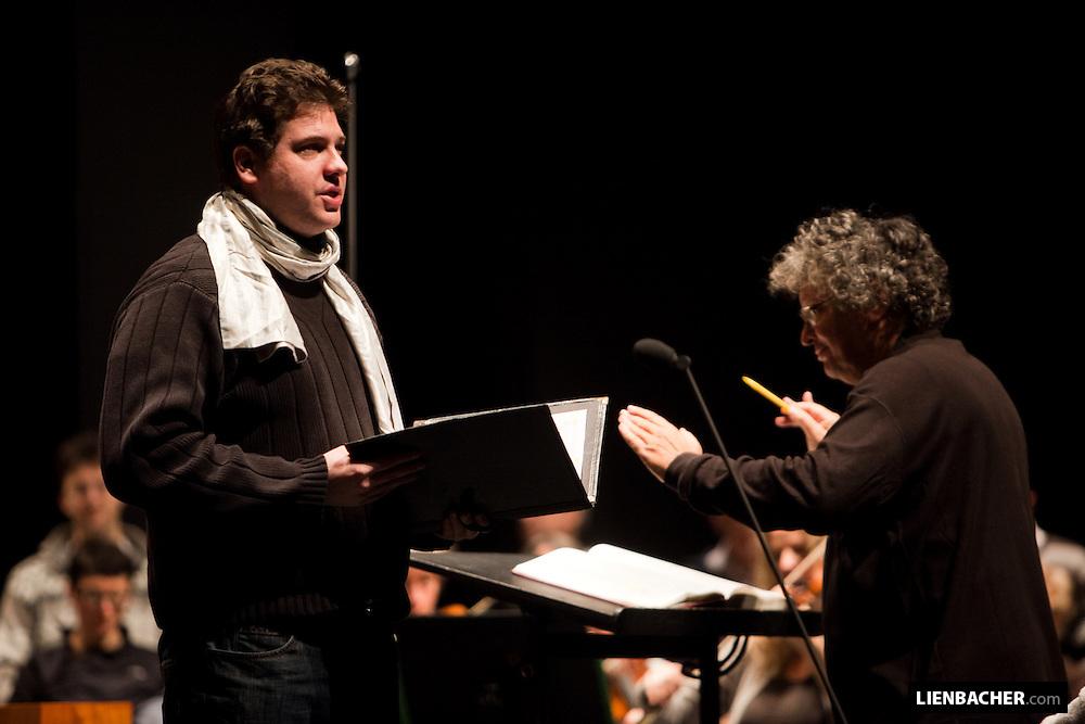 René Jacobs, Freiburger Barockorchester, Grand Festival Hall Salzburg, Mozartwoche 2009. Photo: Wolfgang Lienbacher