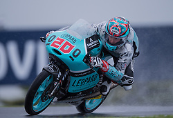 October 21, 2016 - Melbourne, Victoria, Australia - French rider Fabio Quartararo (#20) of Leopard Racing in action during the 2nd Moto3 Free Practice session at the 2016 Australian MotoGP held at Phillip Island, Australia. (Credit Image: © Theo Karanikos via ZUMA Wire)