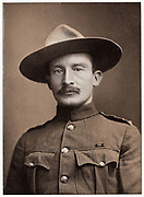 Robert Stephenson Smyth Baden-Powell (1857-1941) British soldier; founded Boy Scouts (1910). In 2nd Boer War won fame as defender of Mafeking (1899-1900).