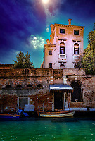 """Hidden villa along the Cannaregio Canal in Tolentino Venice""...<br />