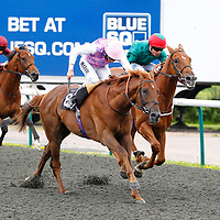 Niger and William Buick winning the 2.30 race
