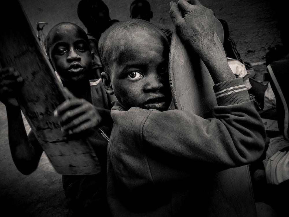 West, Africa, Mali,Peul near Djenné,Madrassa,Choranic School, Madrasah, Madrasa