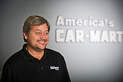 Hank Henderson of Car-Mart in Bentonville, Arkansas.