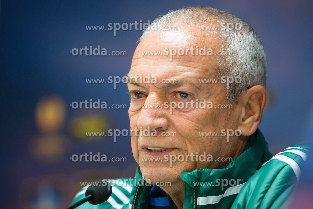 Jesualdo Ferreira, head coach of Panathinaikos after football match between NK Maribor and Panathinaikos Athens F.C. (GRE) in 1st Round of Group Stage of UEFA Europa league 2013, on September 20, 2012 in Stadium Ljudski vrt, Maribor, Slovenia. (Photo By Matic Klansek Velej / Sportida)